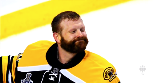 Smilling Tim Thomas